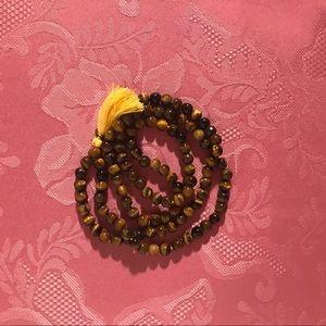 Jewelry - 🐅 Tigers Eye Mala Necklace